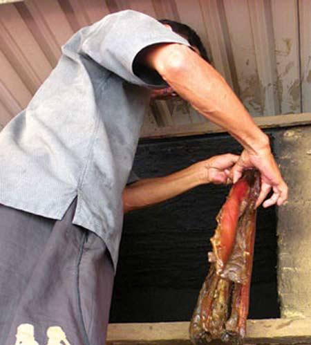 Cầu kỳ thịt mỡ heo tộc xông khói - 2