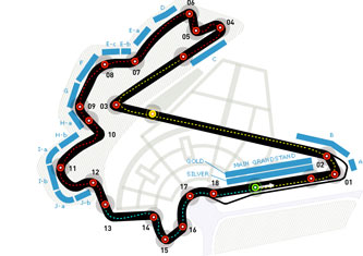 Lịch thi đấu F1: Korea Gp 2013 - 1