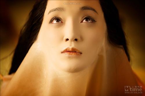 """Video: Châu Tấn """"lột da"""" tắm trần - 4"""