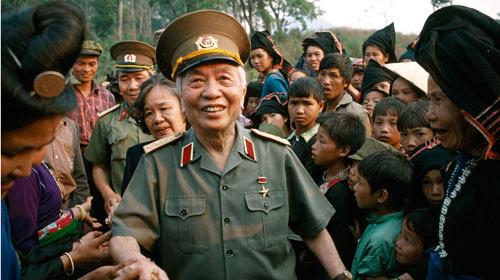Những bức ảnh lịch sử về Đại tướng Võ Nguyên Giáp - 13