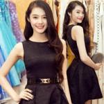 Thời trang - Linh Chi trẻ trung cùng váy xòe