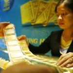 Tài chính - Bất động sản - Giá vàng giảm mạnh chiều mua vào
