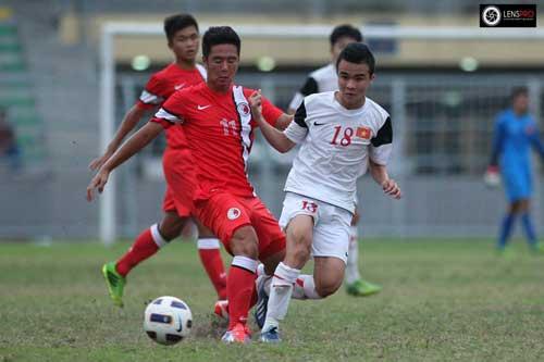 U19 Việt Nam đại thắng U19 Hong Kong - 1