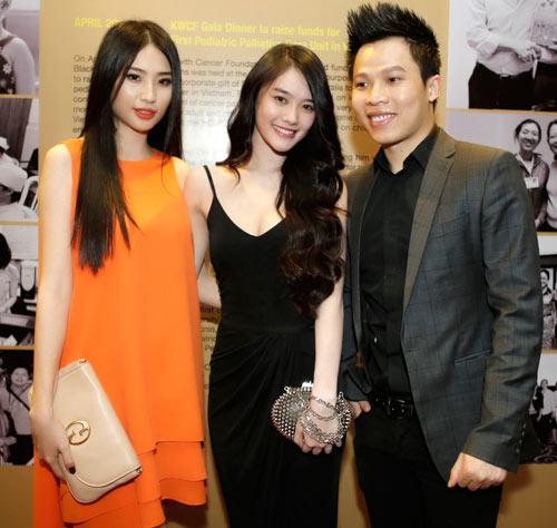 Linh Chi đọ dáng với Á hậu Minh Thư - 6