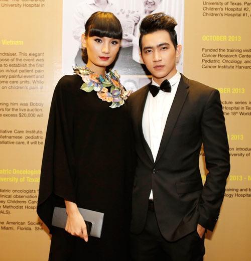 Linh Chi đọ dáng với Á hậu Minh Thư - 7
