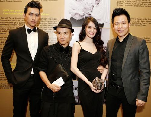 Linh Chi đọ dáng với Á hậu Minh Thư - 8