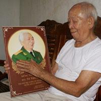 Gặp người lính già được Tướng Giáp tặng áo