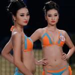 Thời trang - Ứng viên Siêu mẫu Việt Nam lộ bụng mỡ