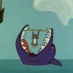 Video funny TOM  & amp; JERRY: Cá mập