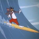 Video funny TOM  & amp; JERRY: Lướt sóng