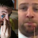 Phi thường - kỳ quặc - Video: 2 dị nhân phun nước từ cằm và mắt