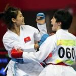 - Đương kim vô địch karatedo ASIAD Lê Bích Phương lỡ hẹn SEA Games