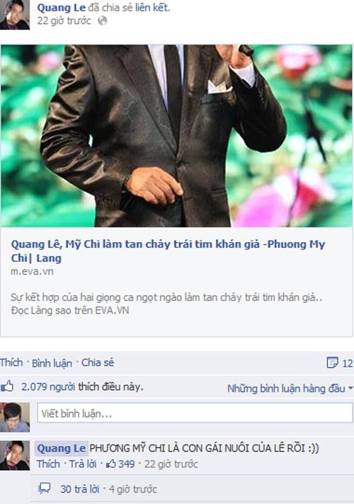 """""""Ngất"""" giá vé show mới Mỹ Chi, Quang Lê - 2"""