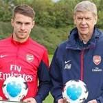 Bóng đá - NHA: Wenger, Ramsey xuất sắc nhất tháng 9
