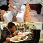 Phi thường - kỳ quặc - Nhà hàng toilet hút khách không tưởng