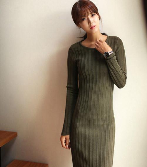Chinh phục ánh nhìn với váy len gợi cảm - 5