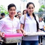Ca nhạc - MTV - Nguyên Khang, Mai Phương Thúy làm cơm từ thiện