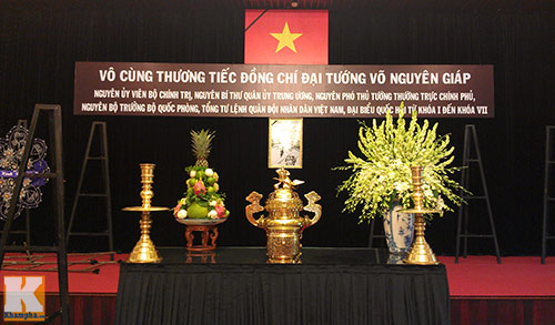Người dân TPHCM làm lễ tưởng niệm Đại tướng - 9