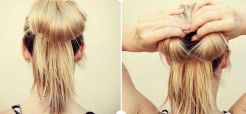 Hướng dẫn tết tóc đi tiệc dễ thương - 3