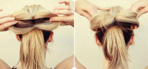 Hướng dẫn tết tóc đi tiệc dễ thương - 4