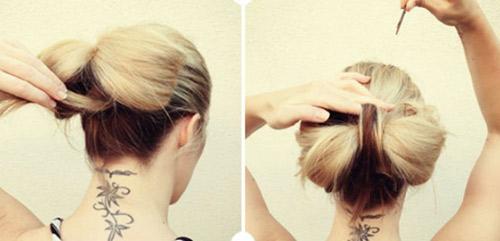 Hướng dẫn tết tóc đi tiệc dễ thương - 6