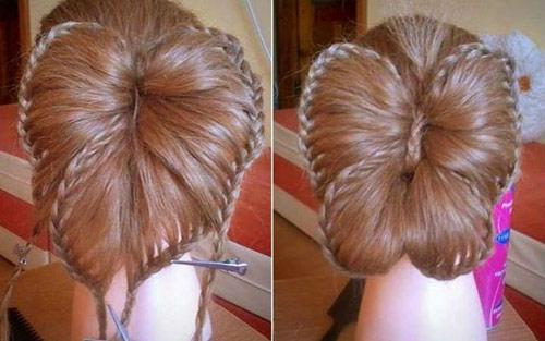 Hướng dẫn tết tóc đi tiệc dễ thương - 10