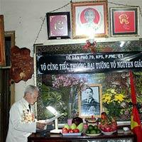 Người dân TPHCM làm lễ tưởng niệm Đại tướng