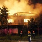 Tin tức trong ngày - Cháy rụi 1000m2 nhà xưởng trong khu công nghiệp