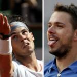 Thể thao - Nadal - Wawrinka: Căng thẳng séc đầu (TK Shanghai Masters)