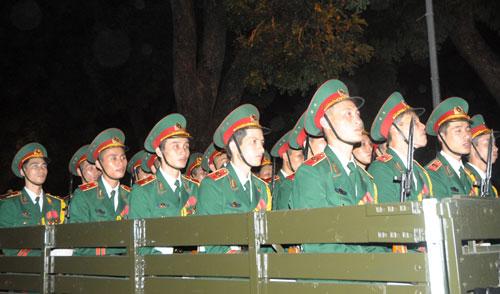 Đêm xem tổng duyệt Lễ đưa tang Đại tướng - 9