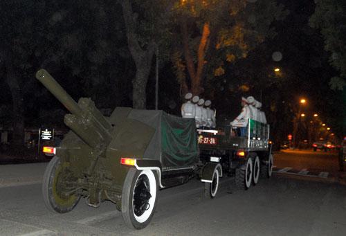 Đêm xem tổng duyệt Lễ đưa tang Đại tướng - 7