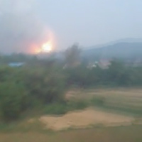 Phú Thọ: Nổ lớn tại kho pháo hoa