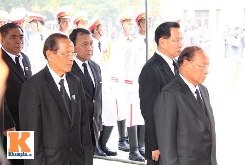 Kết thúc Lễ viếng Đại tướng Võ Nguyên Giáp - 47