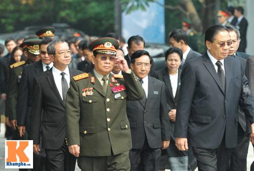 Kết thúc Lễ viếng Đại tướng Võ Nguyên Giáp - 46
