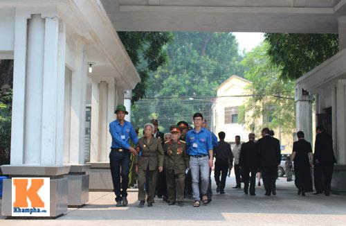Kết thúc Lễ viếng Đại tướng Võ Nguyên Giáp - 38
