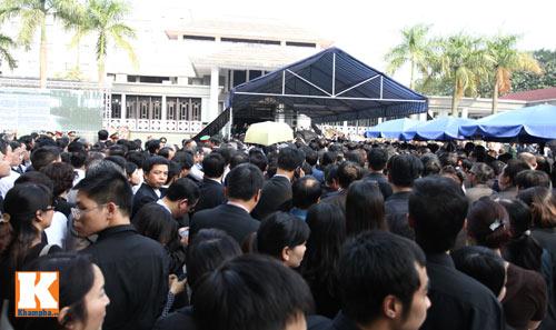 Kết thúc Lễ viếng Đại tướng Võ Nguyên Giáp - 32