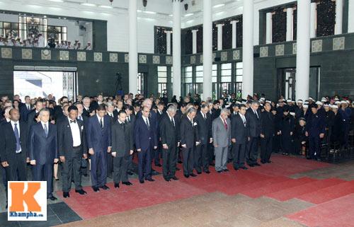 Kết thúc Lễ viếng Đại tướng Võ Nguyên Giáp - 49