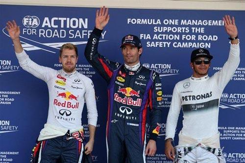 F1 - Phân hạng Japanese GP: Webber vượt qua Vettel - 1