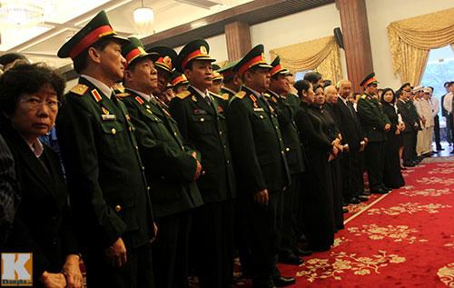 Toàn cảnh Lễ truy điệu Đại tướng Võ Nguyên Giáp - 7