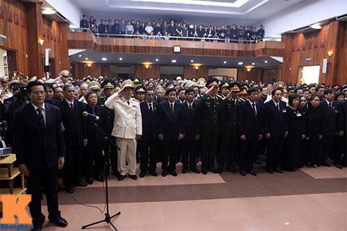 Toàn cảnh Lễ truy điệu Đại tướng Võ Nguyên Giáp - 10