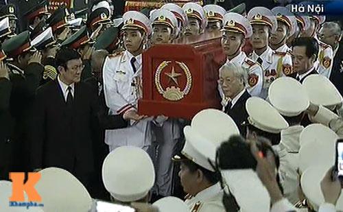Toàn cảnh Lễ truy điệu Đại tướng Võ Nguyên Giáp - 15