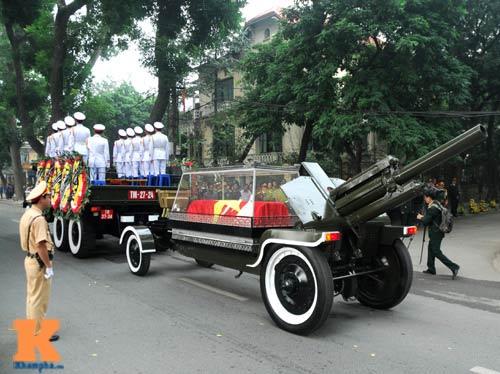 Toàn cảnh Lễ truy điệu Đại tướng Võ Nguyên Giáp - 20