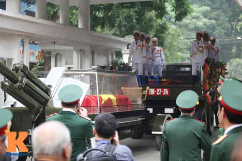 Toàn cảnh Lễ truy điệu Đại tướng Võ Nguyên Giáp - 16