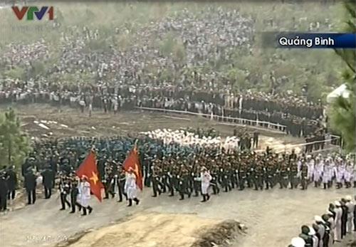 Toàn cảnh Lễ an táng Đại tướng Võ Nguyên Giáp - 7