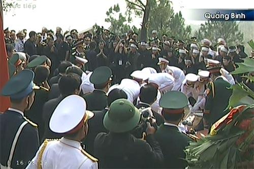 Toàn cảnh Lễ an táng Đại tướng Võ Nguyên Giáp - 18