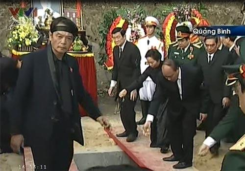Toàn cảnh Lễ an táng Đại tướng Võ Nguyên Giáp - 21
