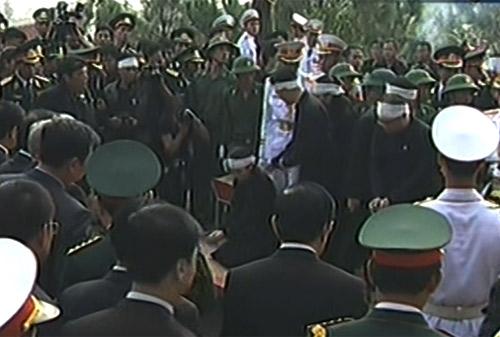 Toàn cảnh Lễ an táng Đại tướng Võ Nguyên Giáp - 22