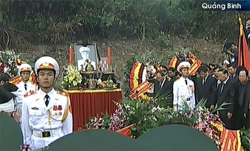 Toàn cảnh Lễ an táng Đại tướng Võ Nguyên Giáp - 23