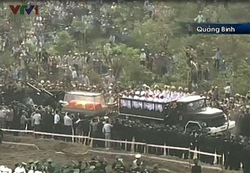 Toàn cảnh Lễ an táng Đại tướng Võ Nguyên Giáp - 9