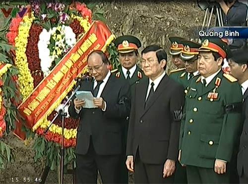 Toàn cảnh Lễ an táng Đại tướng Võ Nguyên Giáp - 11